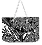 Moroccan Lights - Black And White Weekender Tote Bag