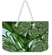 Moroccan Lights - Green Weekender Tote Bag