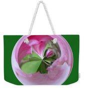 Morphed Art Globe 11 Weekender Tote Bag by Rhonda Barrett
