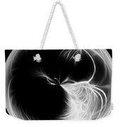 Morphed Art Globe 13 Weekender Tote Bag by Rhonda Barrett