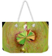 Morphed Art Globe 21 Weekender Tote Bag by Rhonda Barrett