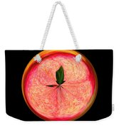 Morphed Art Globe 23 Weekender Tote Bag by Rhonda Barrett