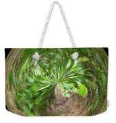 Morphed Art Globe 3 Weekender Tote Bag by Rhonda Barrett