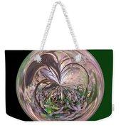 Morphed Art Globe 36 Weekender Tote Bag by Rhonda Barrett