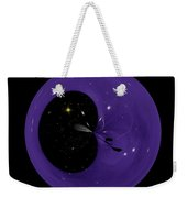 Morphed Art Globe 6 Weekender Tote Bag by Rhonda Barrett