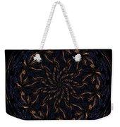 Morphed Art Globes 14 Weekender Tote Bag by Rhonda Barrett