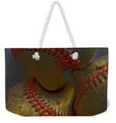 Morphing Baseballs Weekender Tote Bag by Bill Owen