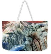 Morphing Obscure Horizons Into Shifting Emotions Weekender Tote Bag