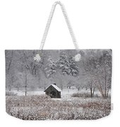 Morris Arboretum Mill In Winter Weekender Tote Bag