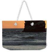 Morro Beach Sunset Weekender Tote Bag