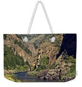 Morrow Point Reservoir Weekender Tote Bag