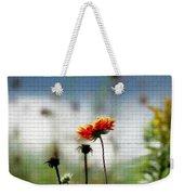 Mosaic Flower Weekender Tote Bag