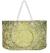 Mosaic Galaxy In Gold Weekender Tote Bag