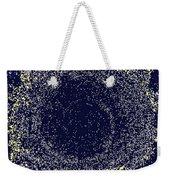 Mosaic Galaxy Midnight Blue Weekender Tote Bag