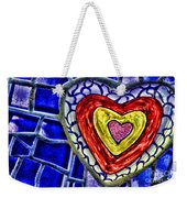 Mosaic Heart By Diana Sainz Weekender Tote Bag
