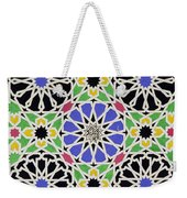 Mosaic Ornament In The South Side Of The Court Of The Lions Weekender Tote Bag