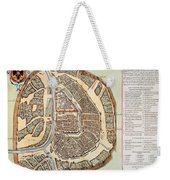Moscow: Map, 1662 Weekender Tote Bag