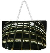 Moscow Skyscraper Night Weekender Tote Bag