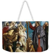 Moses And The Brazen Serpent Weekender Tote Bag