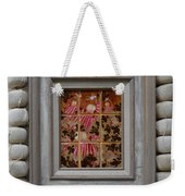 Moses And The Quail - Framed Weekender Tote Bag