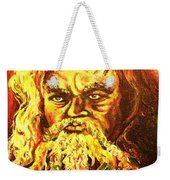 Moses At The Burning Bush Weekender Tote Bag