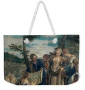 Moses Saved From The Waters Weekender Tote Bag