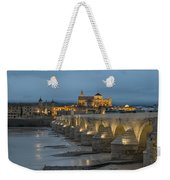Mosque Cathedral Of Cordoba Also Called The Mezquita And Roman Bridge Weekender Tote Bag