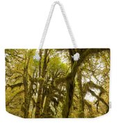 Moss-covered Maple Grove Weekender Tote Bag