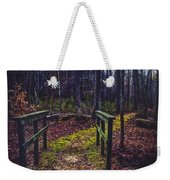 Moss Covered Path Weekender Tote Bag