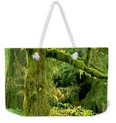 Moss Draped Big Leaf Maple California Weekender Tote Bag