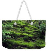 Moss Forest In Kyoto Japan Weekender Tote Bag