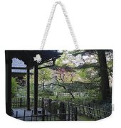 Moss Garden Temple - Kyoto Japan Weekender Tote Bag