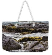 Moss Rocks Hawaii Weekender Tote Bag