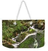 Mossy Creek Weekender Tote Bag by Debra and Dave Vanderlaan