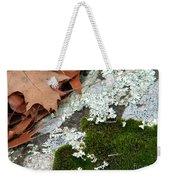 Mossy Leaves Weekender Tote Bag