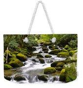 Mossy Mountain Stream Weekender Tote Bag