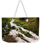 Mossy River Flowing. Weekender Tote Bag