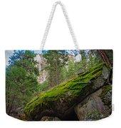 Mossy Rocks Along Vernal Falls Trail Weekender Tote Bag