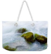Mossy Rocks Weekender Tote Bag