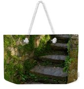 Mossy Steps Weekender Tote Bag by Carla Parris