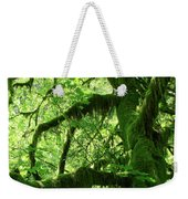 Mossy Tree Weekender Tote Bag by Athena Mckinzie