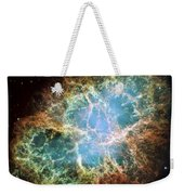 Most Detailed Image Of The Crab Nebula Weekender Tote Bag by Adam Romanowicz