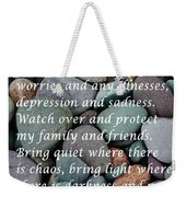 Most Powerful Prayer With Beachrocks Weekender Tote Bag