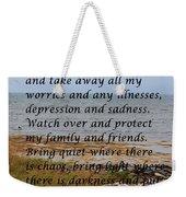 Most Powerful Prayer With Seashore Weekender Tote Bag