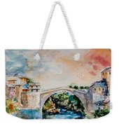 Mostar Bridge Weekender Tote Bag