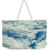 Mostly Cloudy Weekender Tote Bag