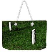 Mostly Green Weekender Tote Bag