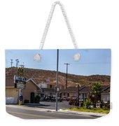 Motel 4 Weekender Tote Bag