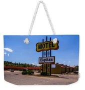 Motel Capitan Weekender Tote Bag