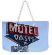 Motel Oasis Weekender Tote Bag